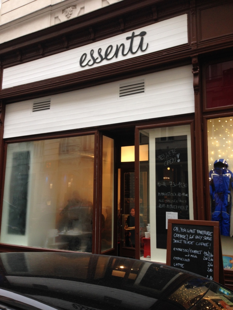 Essenti: A Marriage of Good Food and Coffee in Vienna (1/5)