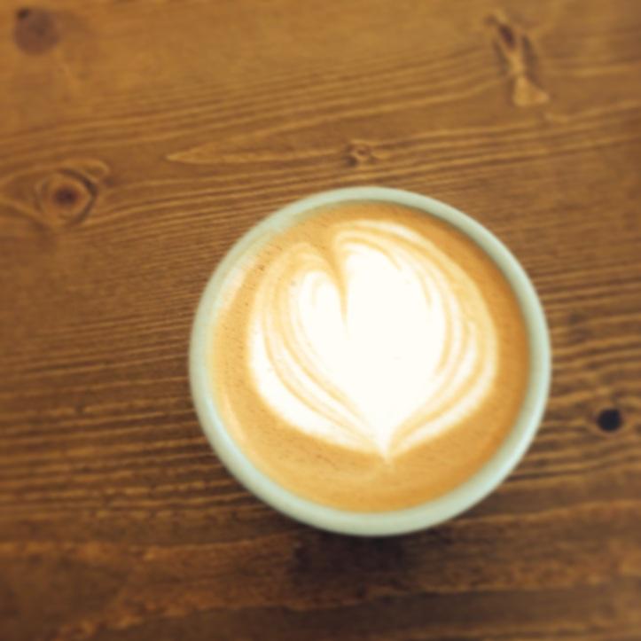 Cortado at Zamm Coffee