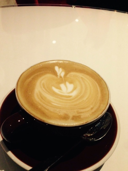 1st Flat White of 2015